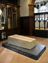 Leicester Cathedral - tomb
